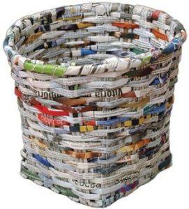 Vannerie de papier