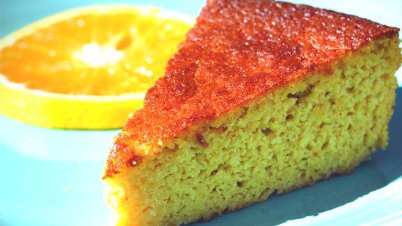 La recette du gâteau à l'orange par Malika